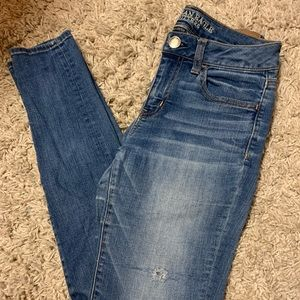 American Eagle Jeans Jeggings Size 4 Long